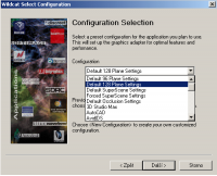 Configuration Selection